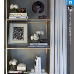 #Repost @kapitomullerinterior ・・・#shelfie from our @holidayhouseny Mother's Day room! #HHNYC2014 #KMIMothersDay #kapitomullerinteriors