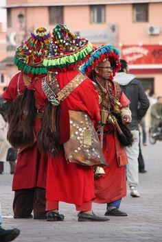 Water vendors . Marrakesh ….MOROCCO…….