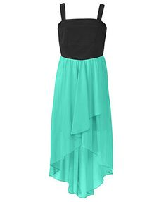 Ruby Rox Girls Dress, Girls Chiffon High-Low Dress