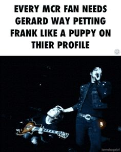 i love the fact that frank's just enjoying it