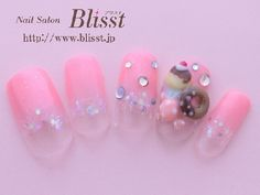 Cute Japanese nail art sample