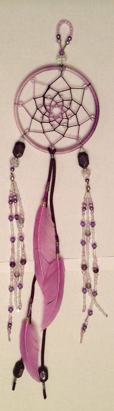 Dream catcher in violet