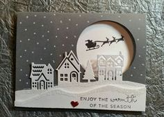 Stampin' Up!, Christmas, Hearts Come Home Stampin' Up!, Christmas, Hearts Come Home Christmas Cards 2018, Stamped Christmas Cards, Christmas Hearts, Homemade Christmas Cards, Xmas Cards, Homemade Cards, Handmade Christmas, Holiday Cards, Stampin Up Christmas 2018
