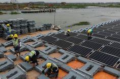 World's largest floating solar farm symbolizes China's leadership – Big Challenge, Barack Obama, Ny Times, Climate Change, Worlds Largest, Sustainability, Leadership, Solar, This Is Us