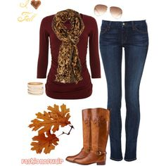 """Fall Outfit #1"" by fashionofblair on Polyvore"