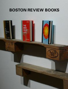 another awesome pallet shelf idea Wood Box Shelves, Cool Shelves, Pallet Shelves, Wood Boxes, Shelving, Pallet Crafts, Pallet Ideas, Pallet Projects, Wood Crafts
