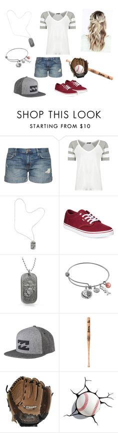 """Quotev Story Ren 6"" by roxfox777 on Polyvore featuring Current/Elliott, Chrome Hearts, Vans, Bling Jewelry, Love This Life, Billabong, Louisville Slugger and Rawlings"
