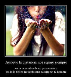 Amor a distancia <3