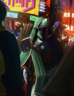 One intrepid fan artist has come up with a horrifying - yet beautiful- explanation for how Boba Fett escaped the Sarlacc pit.