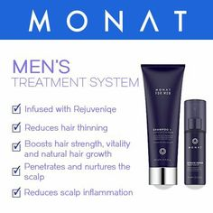 This one if for the men... whatever your hair needs may be... Monat is the answer!