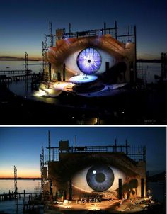 Amazing Opera Stage Tosca! This is awesome inspiration for karaoke stage for the festival