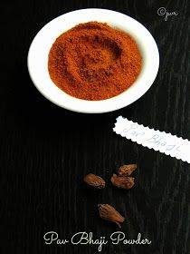 Priya's Versatile Recipes: Pav Bhaji Masala Powder
