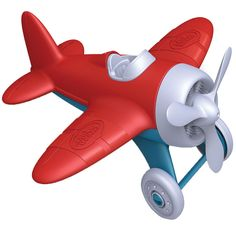 Green Toys Airplane, Red