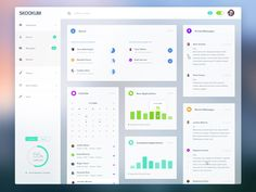 A new dashboard layout I'm working on here at Skookum.  Speaking of Skookum!!  Did you hear??    We're looking for a SUPER talented designer (with front end skills) for our Charlotte office.  We'd ...