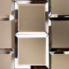 Bronze Beveled 4x4 Mirror Tile