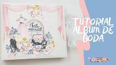 "Tutorial Álbum de Boda ""Say Yes"" (Scrap para Principiante) Frame, Youtube, Home Decor, Cartonnage, Weddings, Creativity, Homemade Home Decor, A Frame, Frames"