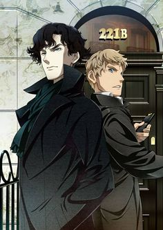 Sherlock OH MY GOSH this is amazing! It looks like a legit anime. Aaah