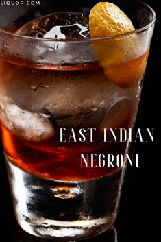 Negronis never go out of season. This rum-based version features fortified wine as a stand-in for vermouth. Try serving this aperitif at the beginning of your next holiday dinner party. Liquor Drinks, Bourbon Drinks, Wine Cocktails, Wine And Liquor, Easy Cocktails, Classic Cocktails, Craft Cocktails, Holiday Cocktails, Fun Drinks