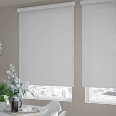 Select Fabric Light Filtering Roller Shades | SelectBlinds Room Darkening Shades, Light Filter, Roller Shades, The Selection, Windows, Curtains, Modern, Fabric, Home Decor