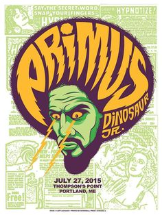 Primus Poster Series - zoltron #gig