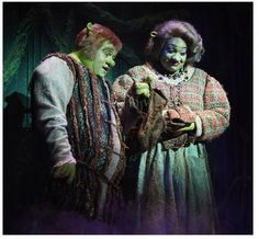 Shrek the Musical Costumes: Mama and Papa Ogre. I played Mama Ogre in the summer of 2015. LOVED it!