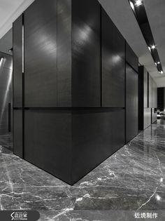 近境制作 唐忠漢 現代風 | 設計家 Searchome Farm Villa, Elevator Design, Wall Finishes, Commercial Design, Corridor, Wall Design, Entrance, Flooring, Interior Design