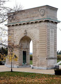 Memorial Arch, Royal Military College, Kingston, Ontario