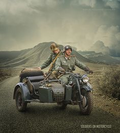 In this tutorial, we'll learn to create a scene of soldiers on motorcycles. I'll show you a simple photo   manipulation techniques, combining different stock image, masking, custom brushes, adjustment layers, blending and filter   effects
