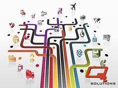 CADENA DE SUMINISTRO. Establecer planes óptimos de abasto se vuelve un cálculo más y más complejo a medida que se tienen mayores opciones y demandas de abasto. Q SOLUTIONS www.qs3.com.mx
