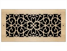 Laser Cut Wood Grilles | Pacific Register Company Laser Cut Panels, Laser Cut Wood, Laser Cutting, Wall Vent Covers, Types Of Wood, Ceiling, Wood Types, Ceilings, Trey Ceiling