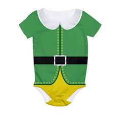 Perfect for baby's first #Christmas Buddy The Elf Costume All Over Print Infant Bodysuit $31.99