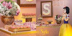 Day by Day : Décor Festa Infantil # Era Uma Vez ... um Reino Encantado da Princesa Sofia by Be Happy