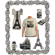 Paris, France by stine1online on Polyvore featuring Mode, Samsung and Olivia Riegel