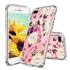 iPhone 7 Plus Case, iPhone 7 Plus Cover, MOSNOVO Floral Flower Blossom Printed Clear Design Transparent Plastic Hard Back with Soft TPU Bumper Protective Case Cover for Apple iPhone 7 Plus Inch) Pretty Iphone 7 Cases, Iphone 7 Cover Case, Ipod Cases, Cute Phone Cases, Iphone 7 Plus Cases, Buy Iphone, Flower Blossom, Protective Cases, Cell Phone Accessories