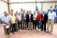 En la inauguración de las obras de mejora del Regadío Canal Júcar-Turia