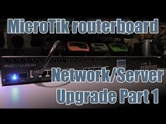 SDGEE #025 MikroTik RB2011UiAS Internet Gateway + A tired cat - YouTube