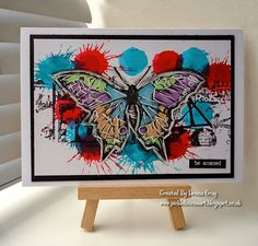 Pop Goes The Butterfly by Donna Gray   That's Blogging Crafty!