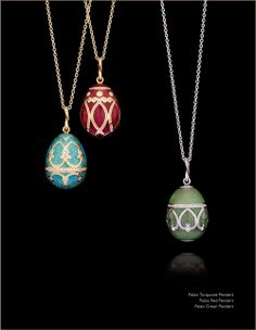 Spiral  Imperatrice Pendants  Faberge    Pendants And