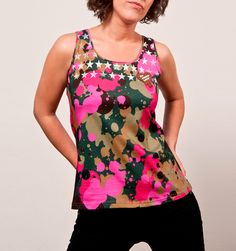 """I´m Choco-late (T-Shirt Aida Muse """"Five"""") Latest T Shirt, Muse, Floral Tops, Tank Tops, How To Wear, Shirts, Outfits, Collection, Women"""