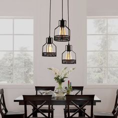 Black Metal Steel Art Flush Mount Ceiling Light With 8 Lights Custom Dining Room Flush Mount Lighting Review