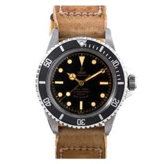 Tudor Stainless Steel Submariner Ref 7928 circa 1963 in Exceptional Condition | From a unique collection of vintage wrist watches at http://www.1stdibs.com/jewelry/watches/wrist-watches/