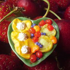 Polymer Clay Charms, Fruit Salad, Acai Bowl, Facebook, Breakfast, Handmade, Food, Acai Berry Bowl, Morning Coffee