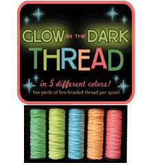 Image of Glow in the Dark thread by Sublime Stitching