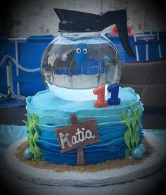 Finding Dory / Finding Nemo birthday cake