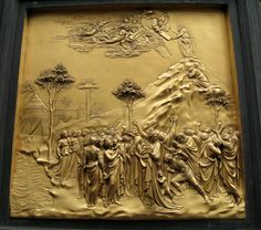 Tuscany bas relief