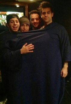 Haha! Love this CK! Cole Walowac, Colton Dixon, Chris August, Jon White