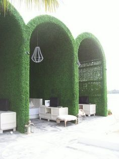 Luxe cabana