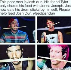 plz help josh. eat a drumstick and send the video to www.totallylegitTØPwebsite.com or donate 2 dollars to support this cause