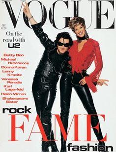 Bono and Christy Turlington December 1992