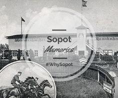 Sopot, Poland z wyścigami konnymi związany jest już od XIX wieku kiedy to pułk Czarnych Huzarów zaczął na terenie obecnego Hipodoromu organizować wyścigi myśliwskie. Sam tor powstał 1898 i od tego czasu nieustannie jest chlubą kąpieliska. #OldSopot #SopotMemories